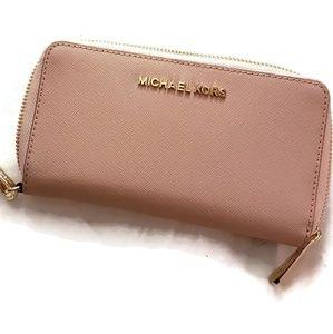 Michael Kors Blossom Continental Wallet NWT